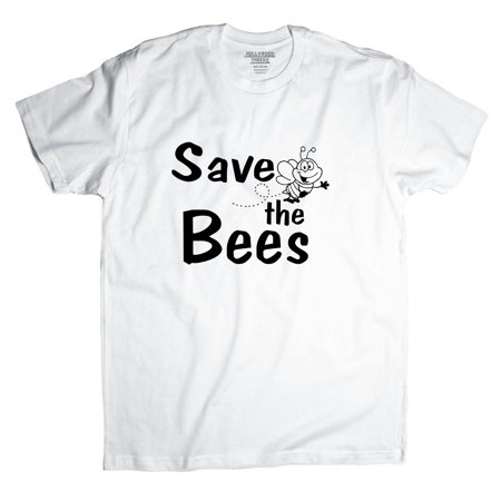 Save The Bees With Cute Bumble Bee Graphic Men 39 S T Shirt