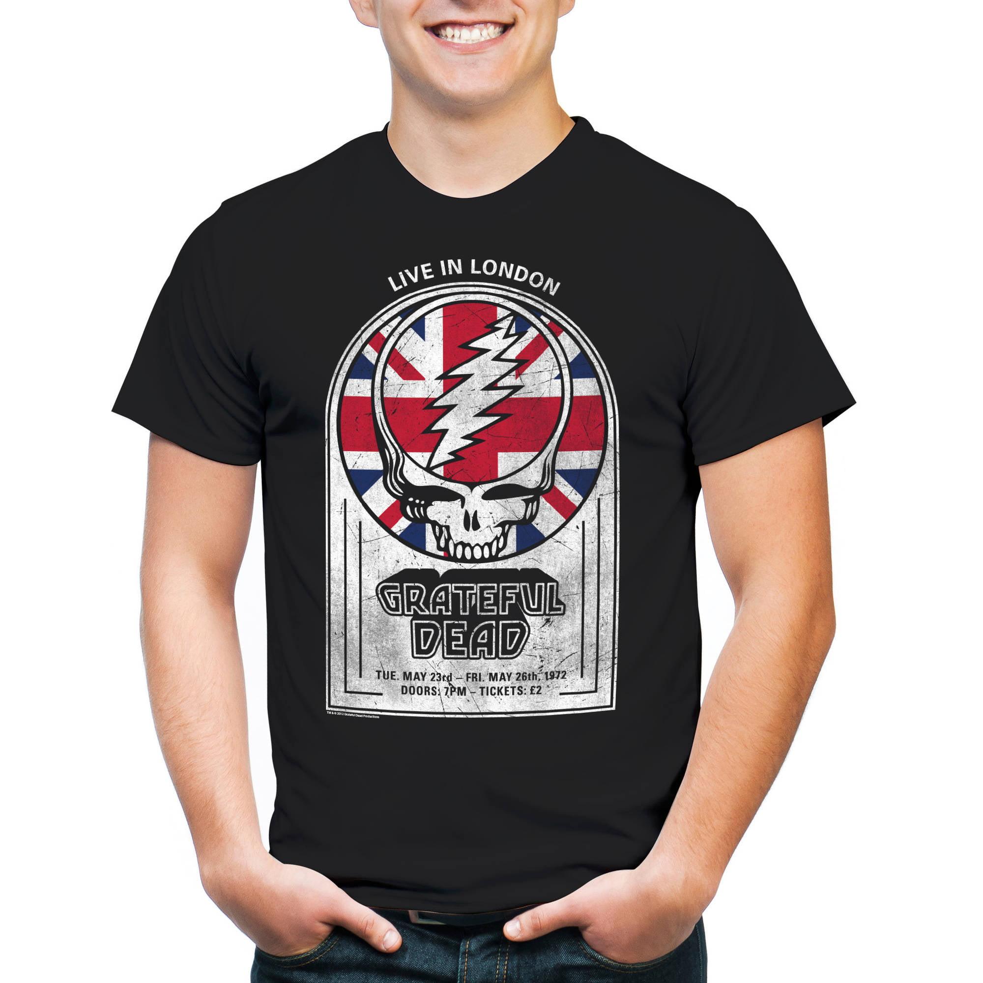 Grateful Dead Live in London Big Men's Short Sleeve T-shirt
