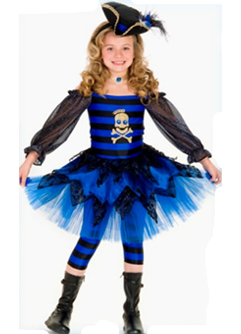 Child Priscilla Pirate with Leggings Costume Princess Paradise 4549 by Princess Paradise