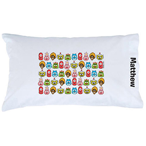 Personalized Yo Gabba Gabba! Line-Up Pillowcase