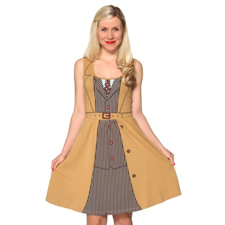 Doctor Who Her Universe David Tennant Tenth Doctor Costume Dress](David Dress)