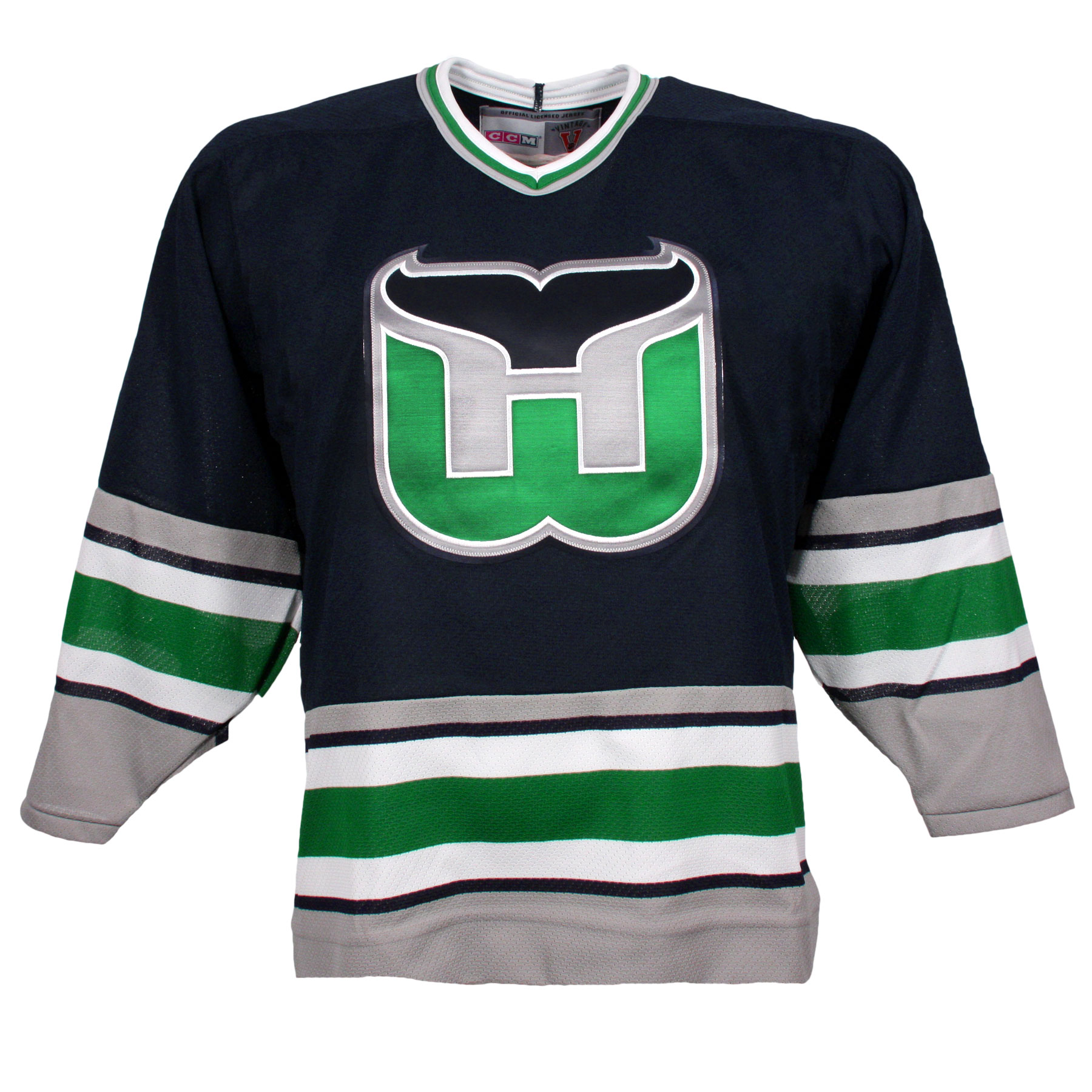 the best attitude 813ce 39aa4 Hartford Whalers Vintage Replica Jersey 1992 (Away) - CCM ...