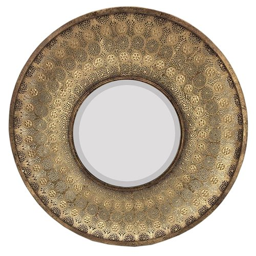 Sagebrook Home Mimi Round Mirror by Sagebrook Home