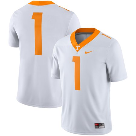 best cheap c23c6 c3ff9 Tennessee Volunteers Nike Team Game Football Jersey - White