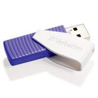 64GB Swivel USB Flash Drive Violet