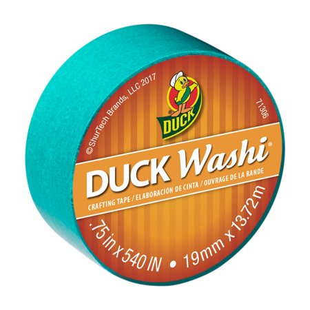 Duck Brand Washi Crafting Tape, 0.75