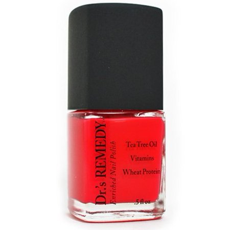 Dr.'s Remedy Non-toxic Nail Polish Clarity Coral - Enriching nail polish helps Toe Fungus