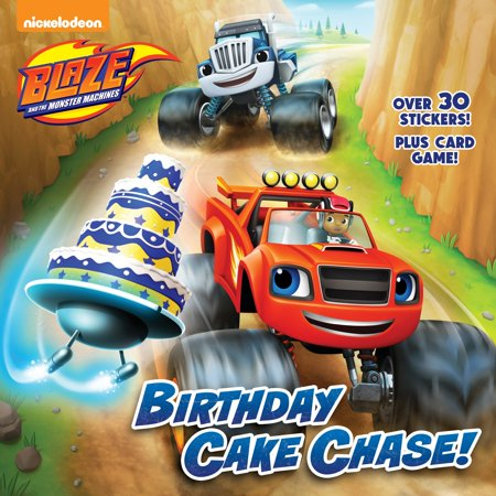 Birthday Cake Chase! (Blaze and the Monster - Blaze The Cat Halloween