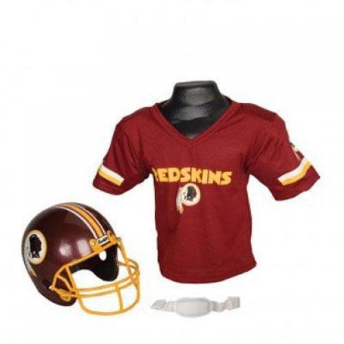 Franklin Sports NFL Washington Redskins Youth Helmet and Jersey Set
