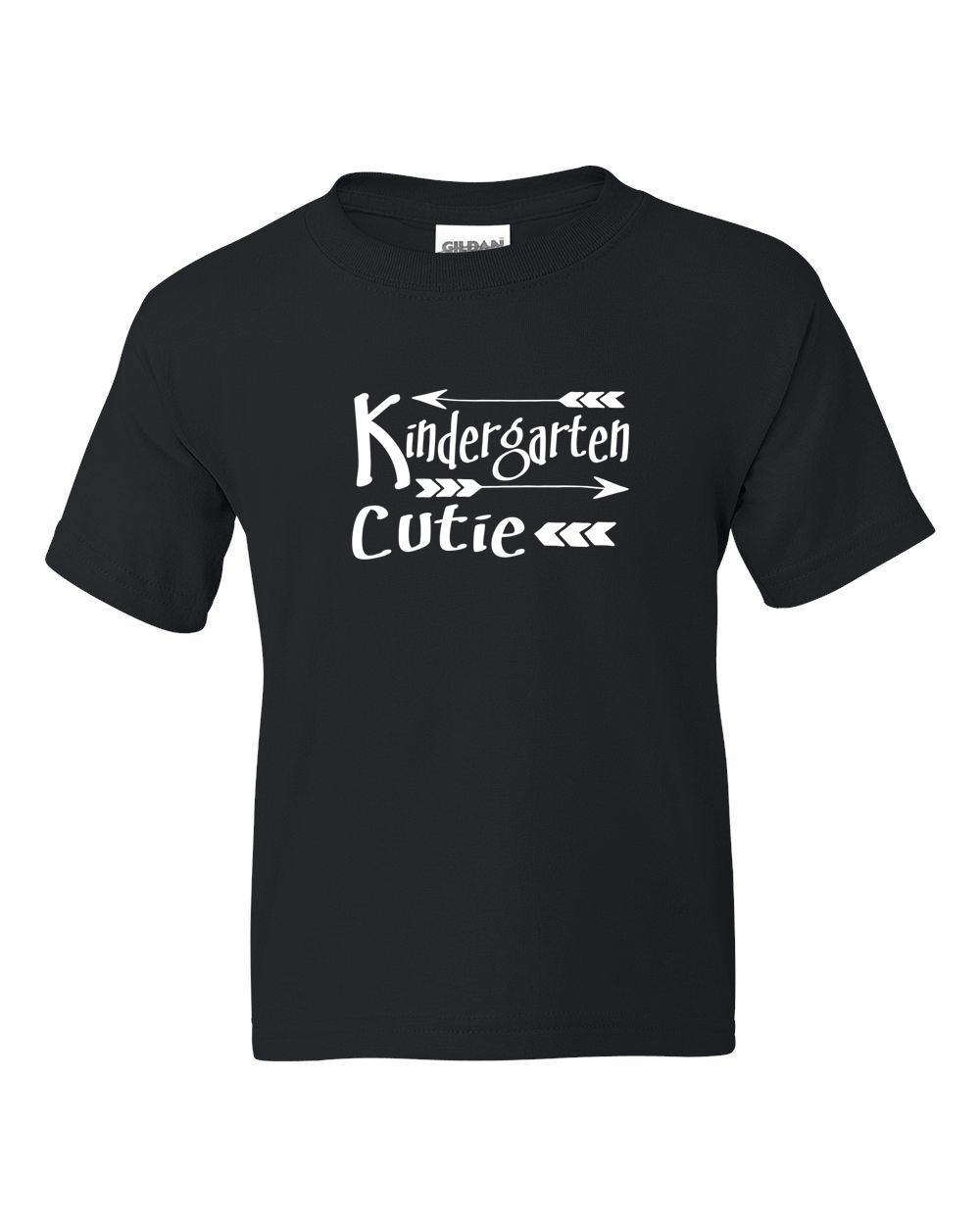Kindergarten Cutie Back to School Toddler Boy Girl Short Sleeve T-Shirt