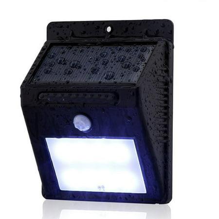 8 LED Outdoor Solar Powered Wireless Waterproof Security Motion Sensor Light ()