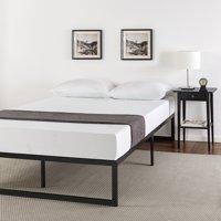 """Zinus Abel 14"""" Metal Platform Bed Frame with Steel Slat Support, Queen"""