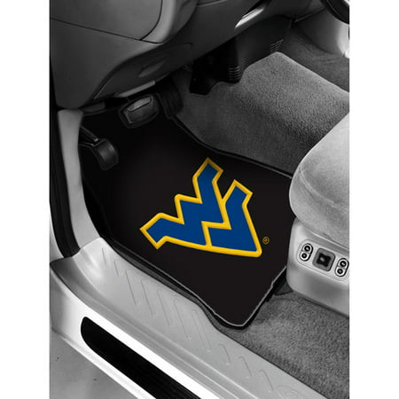 Ncaa  West Virginia Floor Mats   Set Of 2