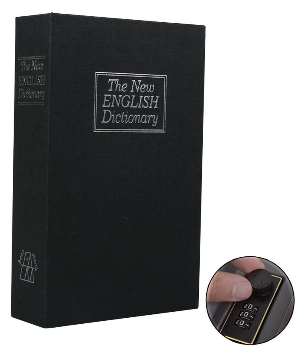 """Every husband always keeps himself a secret fund from his wife. Does your dad do the same? If yes, why not give him this fake-out dictionary stowaway book. It may be a quirky gift but it's a """"soulmate"""" one. Telling him that """"I know your secret but I am by your side"""". Moreover, it's also great stuff for daddy to store jewelry, guns, and passports, etc. It must be an unexpected gift for him on this father's day."""