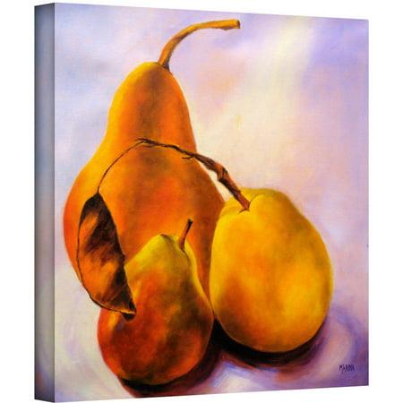 ArtWall Marina Petro u0022Family Portraitu0022 Gallery-wrapped Canvas