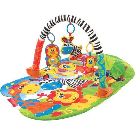 Playgro 5-in-1 Safari Gym for baby infant toddler children