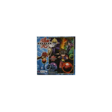 Bakugan Battle Brawlers Puzzle (Bakugan Battle Brawlers 100 Piece Puzzle - 'Dan and Masquerade' )