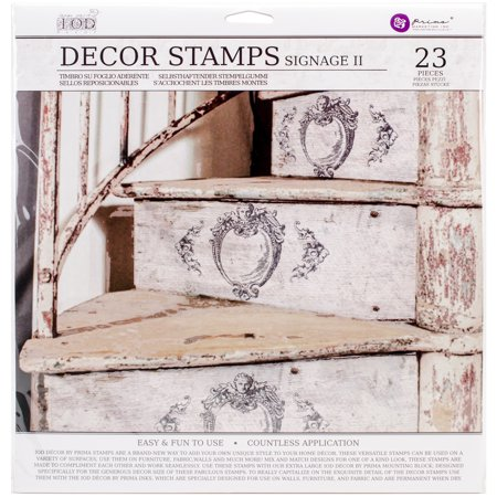 Decor Stamp (Iron Orchid Designs Decor Clear Stamps 12