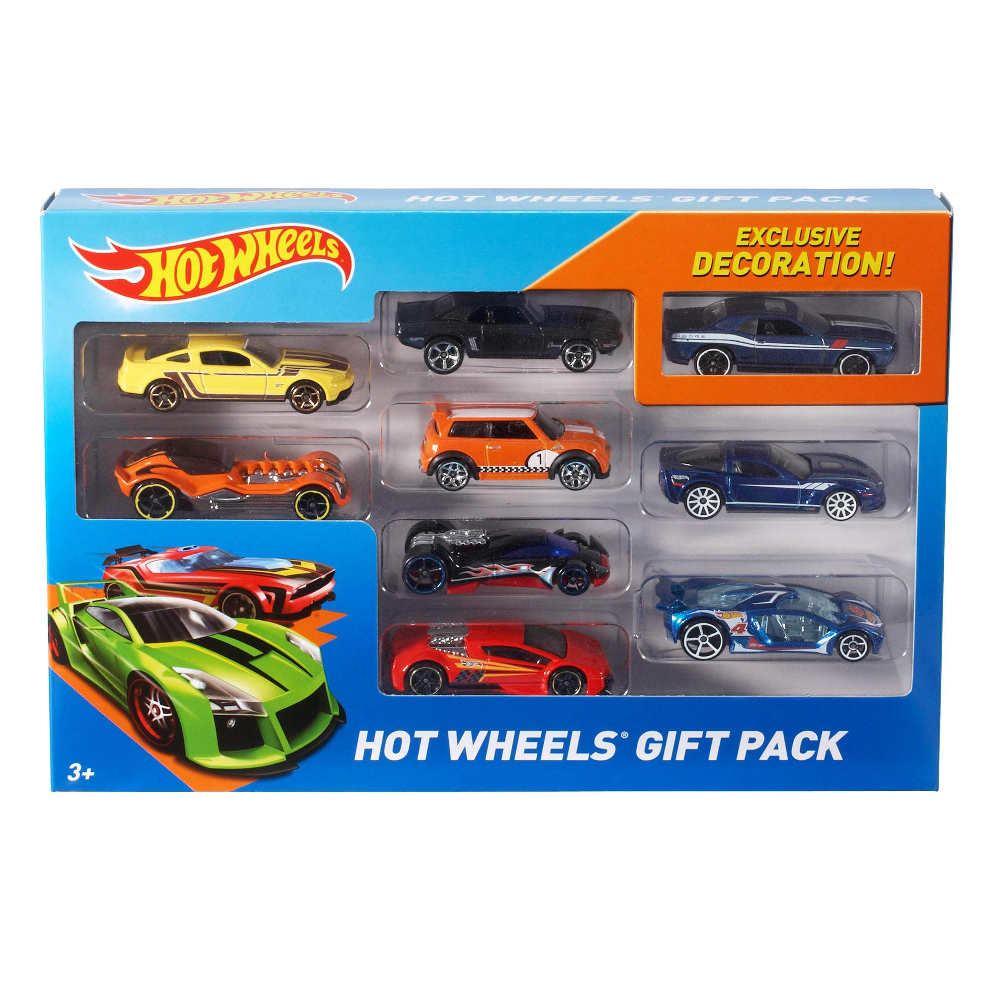 HOT WHEELS - 9 CAR PACK ASST