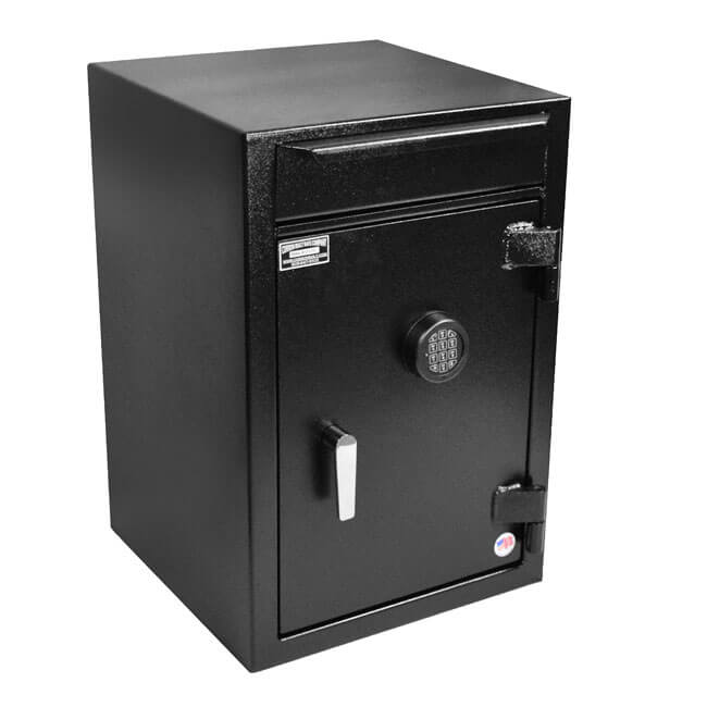 Stealth BWB3020FL7 Heavy Duty Drop Safe Front Load Depository Vault Electronic Lock Cash Storage