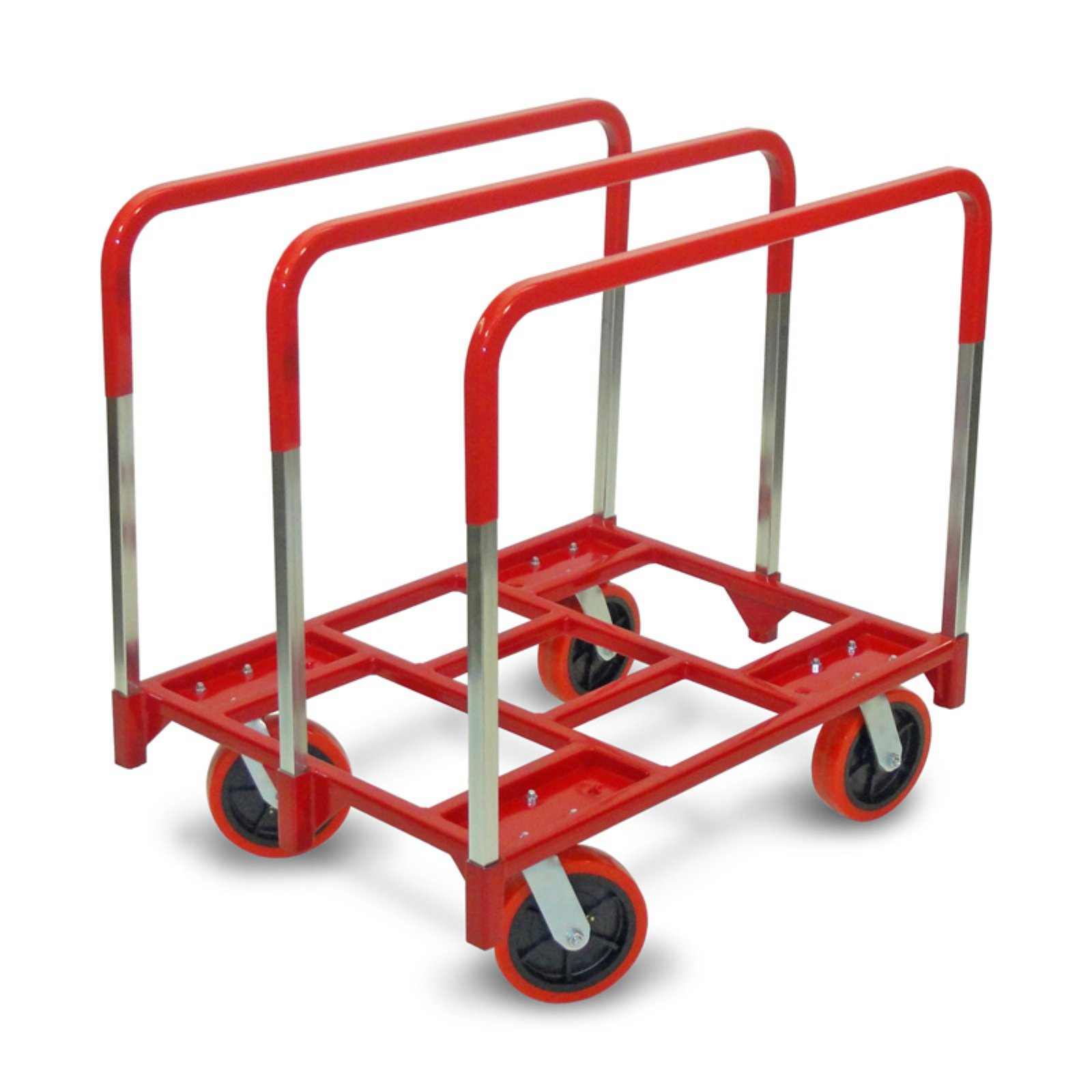 Raymond Products Panel Mover with Swivel 8 in. Quiet Poly Casters 3 Standard Uprights