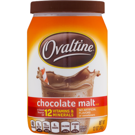 Ovaltine Chocolate Malt Mix (Pack of 2) - Walmart.com