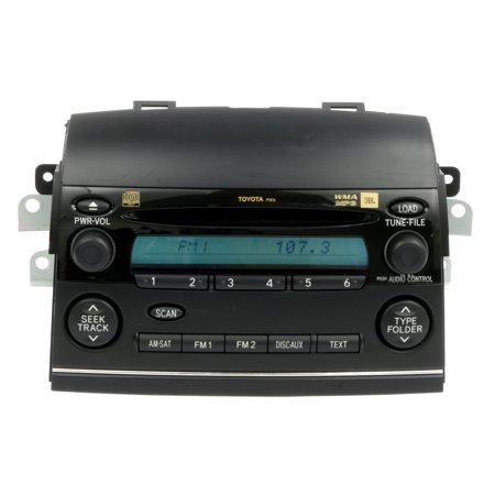 Toyota Electronic - 2006-2007 Toyota Sienna AM FM Pioneer Radio mp3 6 Disc CD 86120-AE062 Face P1816 - Refurbished