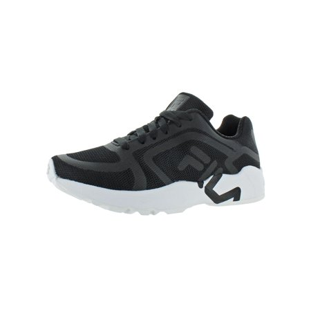 Fila Womens Mindbender F Breathable Workout Running Shoes B/W 9 Medium