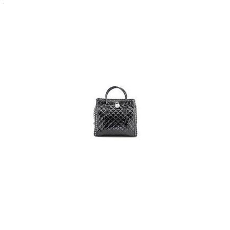 Michael Kors - Michael Kors Hamilton Hippie Grommet Large North South Tote  Quilted Black Leather - Walmart.com 702dfb7cdc