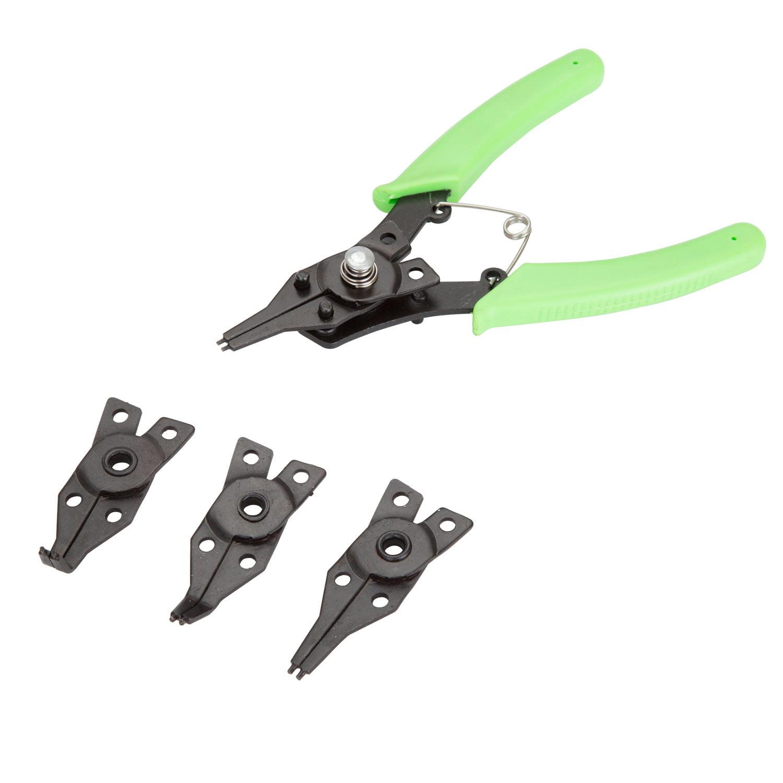 Hyper Tough™ 4 Piece Combination Snap Ring Plier Se