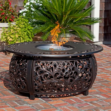 Fire Toulon Oval Propane Gas Fire Pit Image