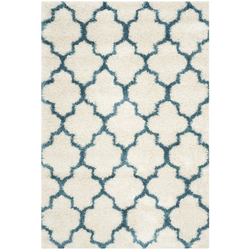 Safavieh Shag Kids Yadira Geometric Quatrefoil Area Rug or Runner