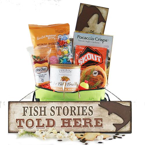 Wishin I was Fishin Fishing Gift Basket