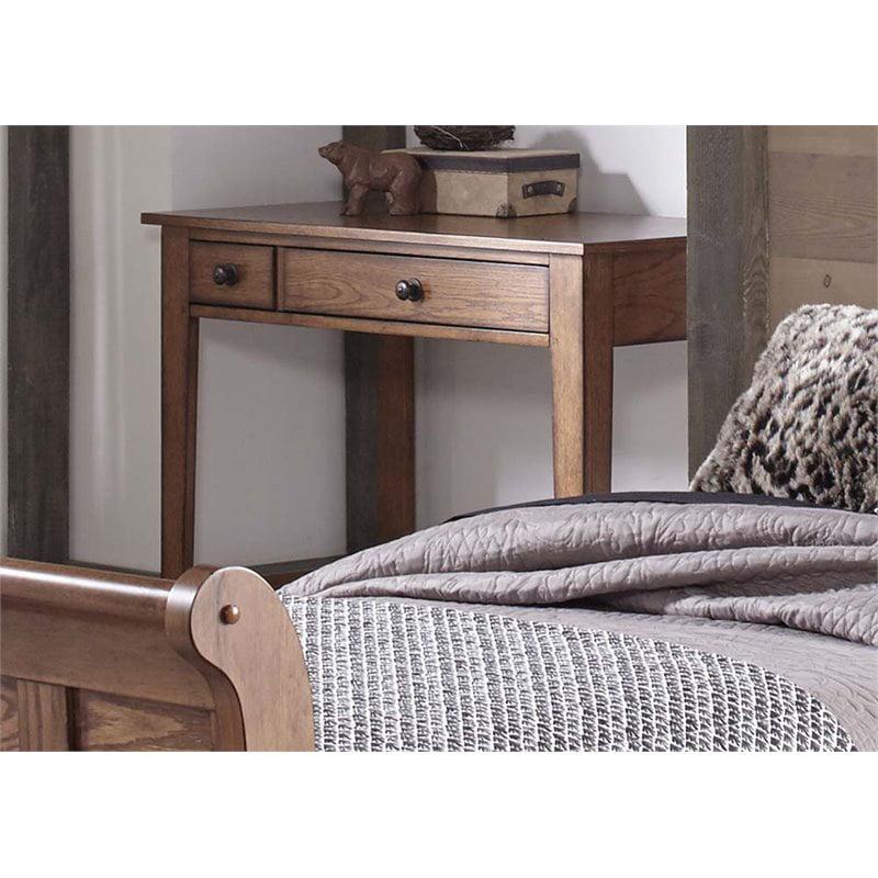 Liberty Furniture Grandpa's Cabin Writing Desk in Aged Oak - image 1 de 1