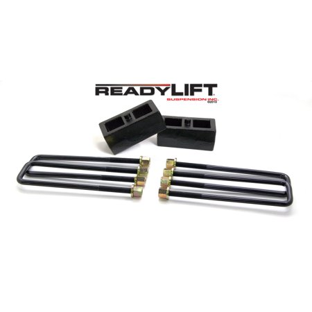 ReadyLift Suspension 11-15 GM/Chevy 2500HD 2.0in Tall OEM Style Rear Lift Block Kit w/