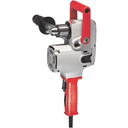 "Milwaukee Hole Hawg 1/2"" 7.5 Amp Electric Angle Drill Kit 1676-6"