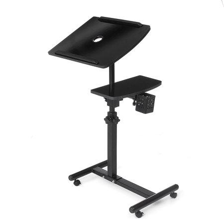 Home Office Double Lifting 360 Degree Rotating Lazy Laptop Table Cooling Floor Removable Bedside Table Land Table