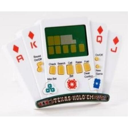 Las Vegas Casino Corner Texas Hold'em Poker Showdown Handheld Game](Halloween Corner Game)