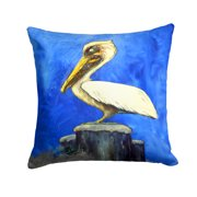 Pelican Texas Pete Fabric Decorative Pillow