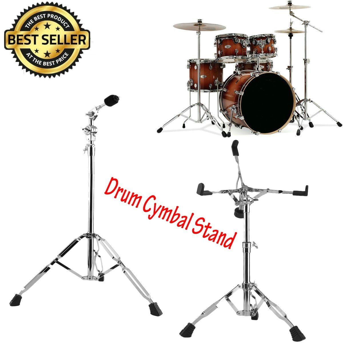Boom Cymbal Stand - Lightweight, Double-Braced