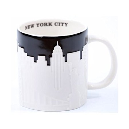 Starbucks New York Taxi Edition Mug, 16 Oz