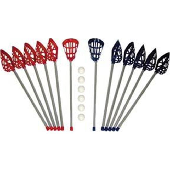 Olympia Sports LC037P P.E. Senior Lacrosse Set