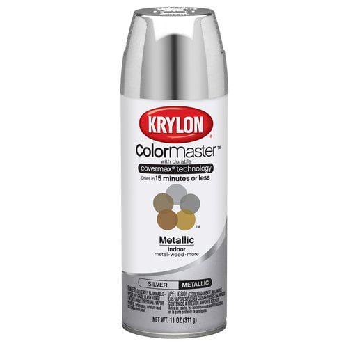 Krylon ColorMaster Silver Spray Paint