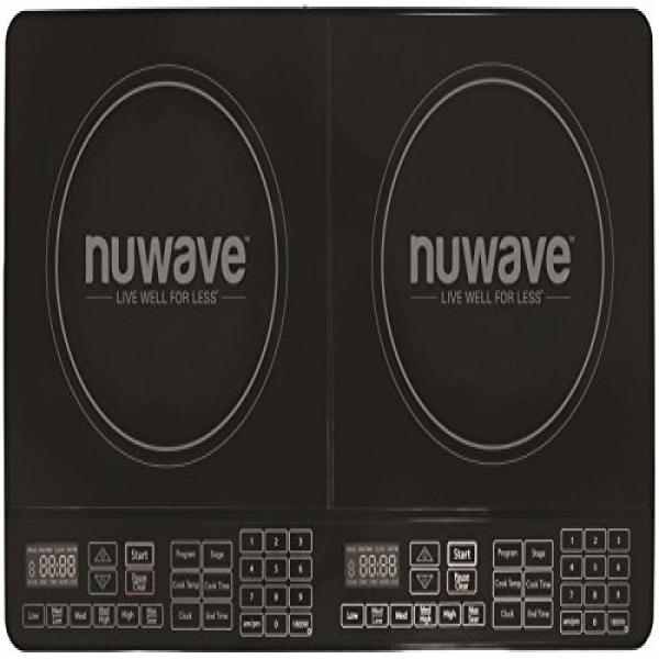 Nu-Wave 30602 Double Precision Induction Cooktop Burner, ...