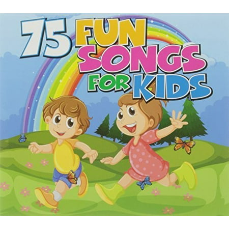 75 Fun Songs for Kids (CD) - Songs For Halloween For Preschoolers