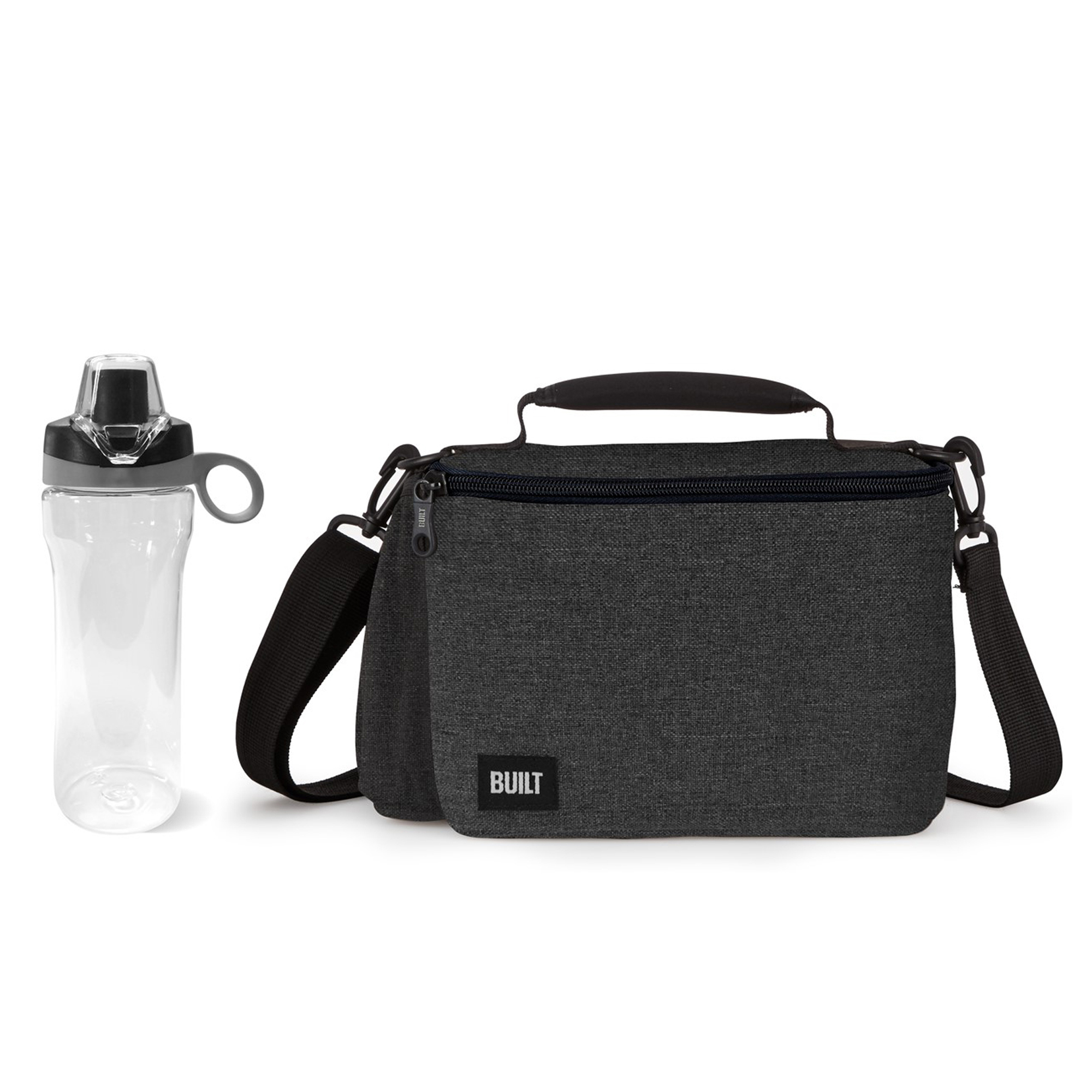 Built NY Metro North Oxford Polyester Lunch Bag With Bottle