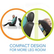 Cosco MightyFit 65 Rear Forward Facing Convertible Car Seat Anchor Image 1 Out Of