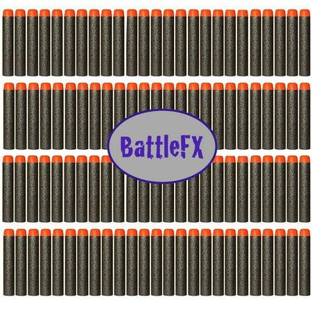 Nerf N Strike Elite Compatible Darts   Bullets   Stealth Black   Set Of 100   Closest To Nerf Brand