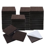 """40pcs Felt Furniture Pads Square 1 1/2"""" Floor Protector for Table Chair Leg"""
