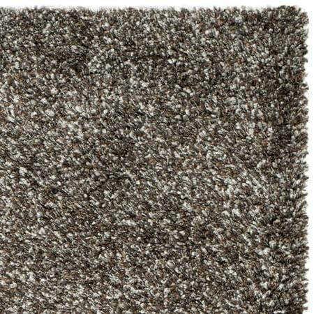 Safavieh New York Shag Collection Sg165 2525 Brown Round Area Rug 4